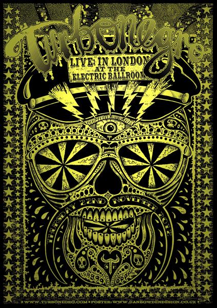 skull poster by Dan Bowden
