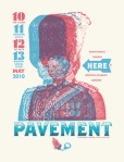 little tuffy pavement broken social scene gigposter