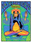 psychedelic poster art by designer John Howard : the stick up poster show