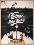 Seattle's Factory 43 : father John Misty gigposter
