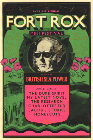 sam chivers' fort rox festival poster (newhaven) : British Sea Power