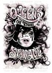 QOTSA show poster copenhagen - jemma treweek (brighton)