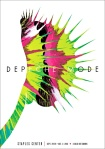 depeche mode gigposter by kii arens